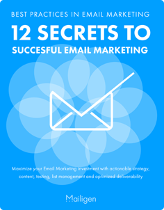 12 Secrets to Successful Email Marketing
